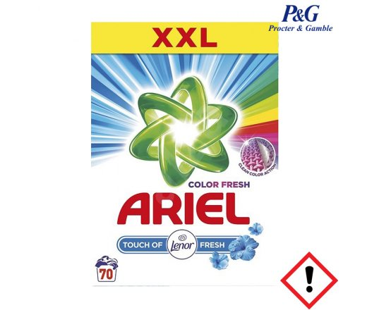 ARIEL Touch of Lenor Fresh Color prací prášek 70 PD 5,25 kg