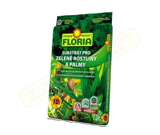 Agro FLORIA Substrát pro zelené rostliny a palmy 10 l