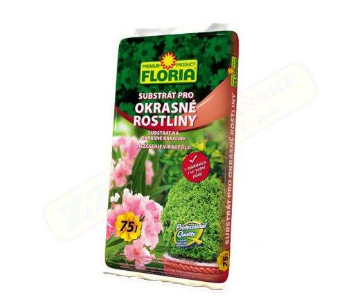 Agro CS FLORIA Substrát pro okrasné rostliny 75 l