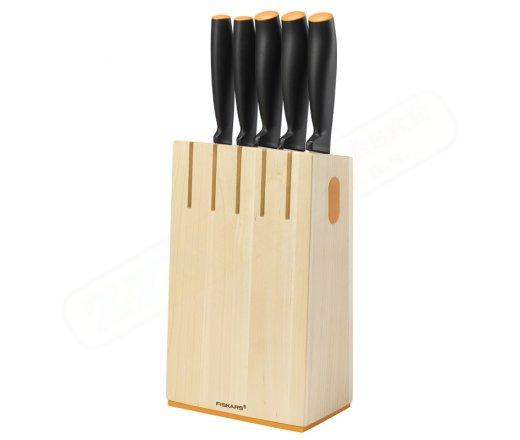 FISKARS Functional Form 1014211 sada nožů v bloku 5 ks