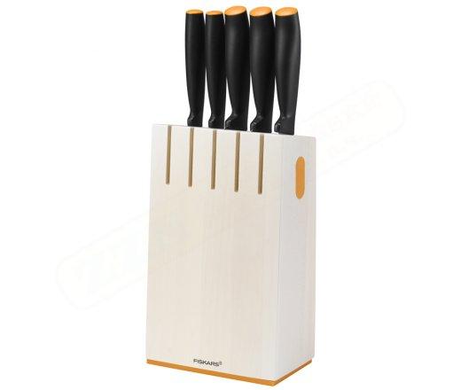 FISKARS Functional Form 1014209 sada nožů v bloku 5 ks