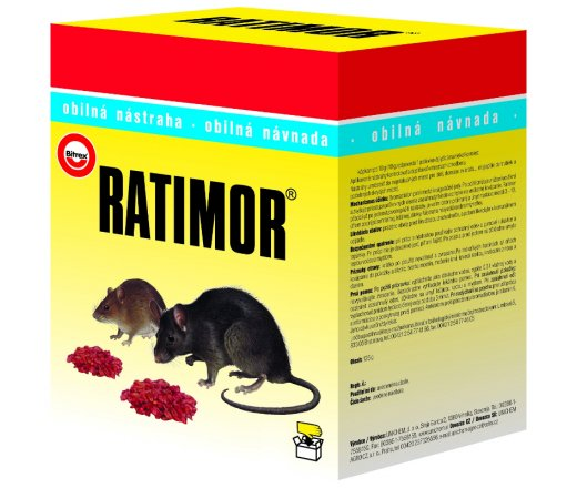Ratimor obilná nástraha 600g
