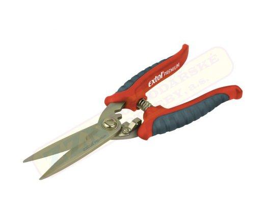Zahradní nůžky EXTOL PREMIUM víceúčelové 200mm 8855200