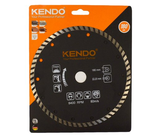KENDO Diamantový kotouč TURBO 180 mm DIA 61215112