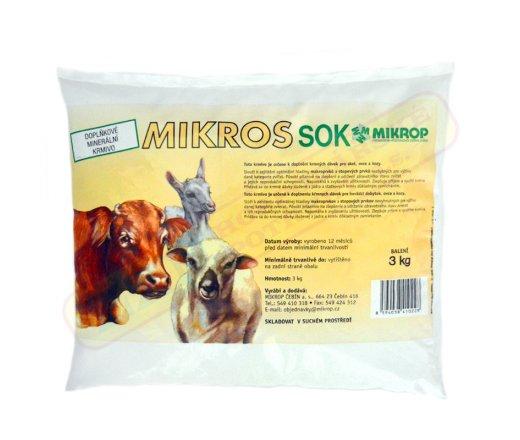 Mikros SOK pro Skot, ovce a kozy 3kg