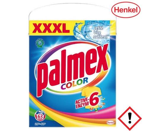 PALMEX Color prací prášek na praní barevného prádla 63 PD 4,1 kg Box