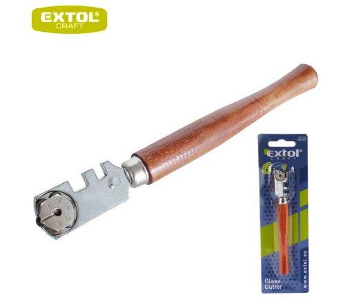 EXTOL Craft Řezač skla s karbidovými kolečky 6ks řezacích koleček 105153