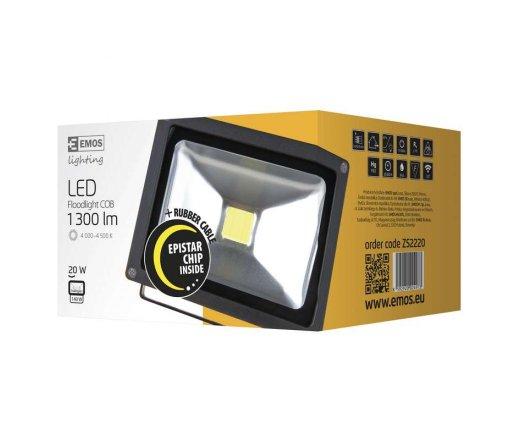 EMOS Reflektor LED 20W HOBBY studená bílá ZS2221
