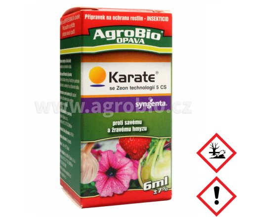 AgroBio Karate se Zeon technologií 5 CS 6 ml
