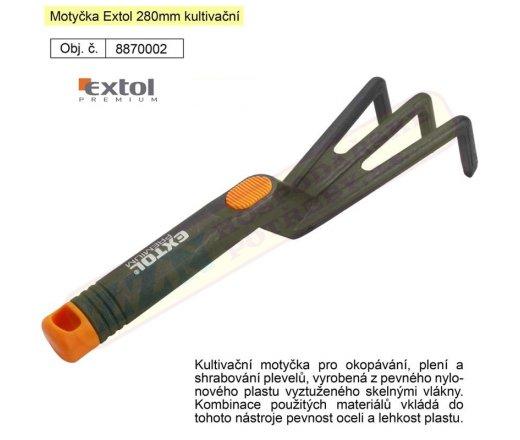 EXTOL PREMIUM 280mm polyamid vyztužený skelným vláknem