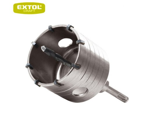 EXTOL Craft Vrták SDS PLUS do zdi korunkový 73mm 26002