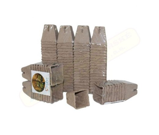 M.A.T. Sadbovač rašelinový jednorázový 6x6x6cm 20ks 251044