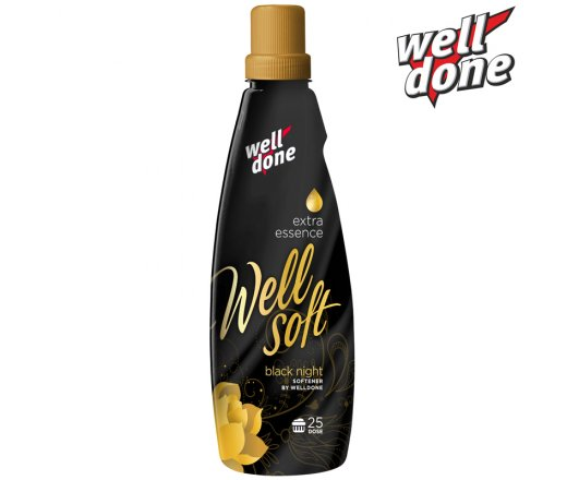 Well Done Wellsoft Avivážní koncentrát Black Night 1 l