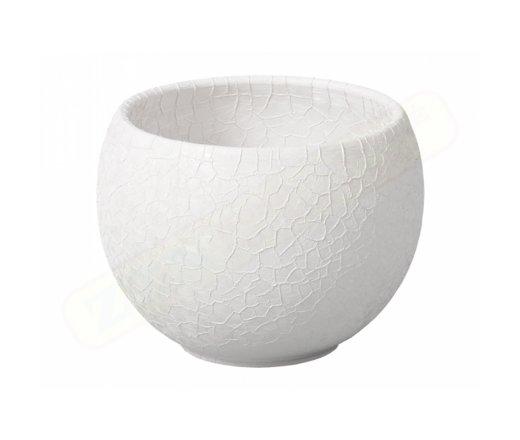 Nohel Garden LUNA BARANDE keramická bílá matná 14cm 063714bí