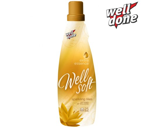 Well Done Wellsoft Avivážní koncentrát Sparling Lilies Gold 1 l