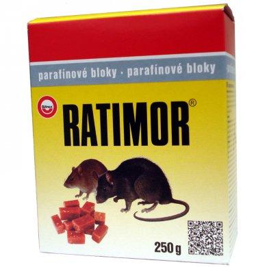 Ratimor parafínové bloky 250g