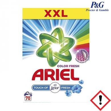 ARIEL Touch of Lenor Fresh Color prací prášek 70 PD 5,25 kg