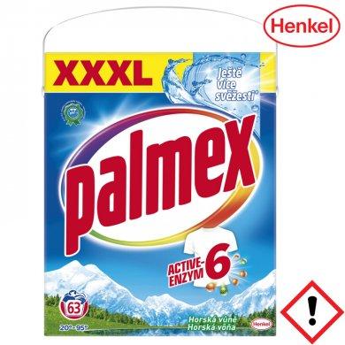 PALMEX Horská vůně univerzální prací prášek 63 PD 4,1 kg Box
