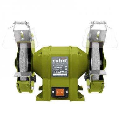 EXTOL Craft Bruska stolní dvoukotoučová 200mm 350W 410130
