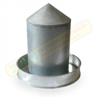 Napáječka klobouková pozinkovaná 8L pro drůbež - 553051