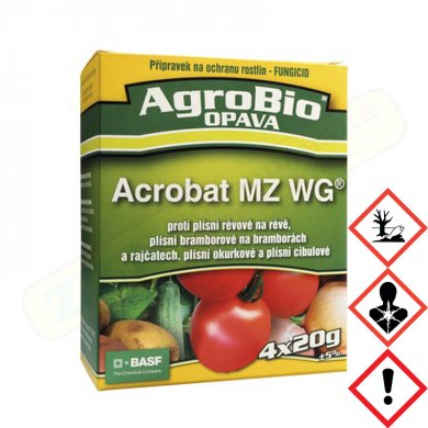 AgroBio Opava Acrobat MZ WG – 4x20g