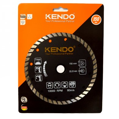 KENDO Diamantový kotouč TURBO 150 mm DIA 61213112