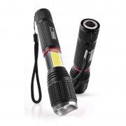 EMOS Svítilna ruční 5W LED + 3W COB fokus P3111