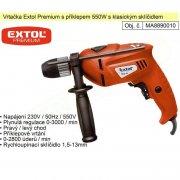 EXTOL Premium Příklepová vrtačka 550W 8890010