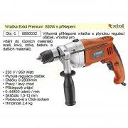 EXTOL Premium ID 850 C Příklepová vrtačka 850W 8890032