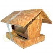 Krmítko pro ptáky dřevěné 3JIR2