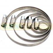 Hadicová spona 10-16mm - W2 nerezová