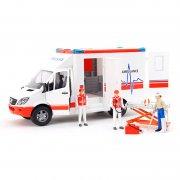 BRUDER 2536 MERCEDES BENZ Sprinter sanitka s figurkou záchranáře